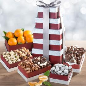 ATC0241, Layers of Wonder Fruit, Nuts and Chocolates Tower - PRE-ORDER NOW
