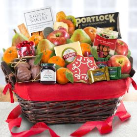 AA5005, Holiday Tidings Deluxe Gourmet Gift Basket