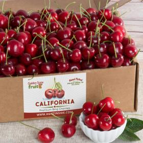 AB0004, California Bing Cherries Gift Box 2.5 lbs