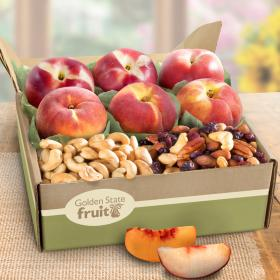 AB1031, Sweet Summer Nectarines and Peaches with Nuts