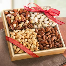 AP8012, Savory Favorites Assorted Nuts Tray