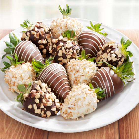 Nuts About Chocolate Covered Strawberries 12 Berries