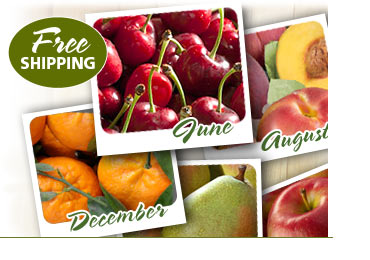 Customize Monthly Fruit Deliveries with Free Shipping!