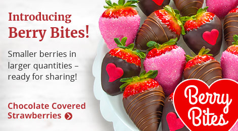 Berry Bites - our newest Chocolate Covered Strawberries!