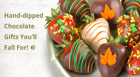 Hand Dipped Chocolate Gifts You'll Fall For!