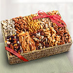 AA4006, West Coast Grand Gourmet Savory Snacks Basket
