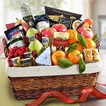 AA4018, California Deluxe Farmstead Fruit Basket