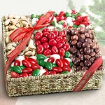 AA4022, Traditional Holiday Treats Gift Basket
