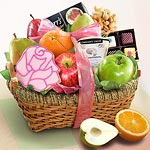 AA4028, Spring Savory and Sweet Fruit Basket