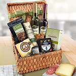 AA4043, Artisanal Delight Cheese and Savories Picnic Hamper