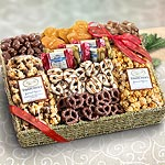 AA4056 , Chocolate, Caramel and Crunch Grand Gift Basket
