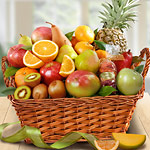 AA4061, California Tropic Abundance Fruit Basket