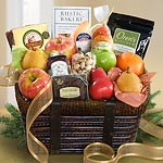 Best of California Artisanal Gourmet and Fruit Basket