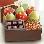 AB1005, Malibu Gourmet Fruit and Treats Gift Box