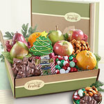 AB2032, Deluxe Holiday Goodies and Fruit Gift Box