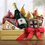 AC0004, Sparkling Holidays Fruit Gift Crate