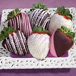 ACD1003, Celebrate Chocolate Covered Strawberries - 6 Berries