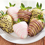 Spring Fling Chocolate Covered Strawberries - 6 Berries
