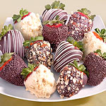ACD2004, Nuts About Chocolate Covered Strawberries - 12 Berries