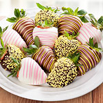 ACD2023, Spring Fling Chocolate Covered Strawberries - 12 Berries