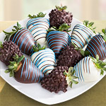 Fathers Day Chocolate Covered Strawberries - 12 Berries