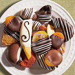 ACM1003, Hand Dipped Chocolate Covered Dried Fruit Assortment
