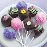 ACP1021M, 10 Spring Celebration Chocolate Cake Pops