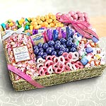 AG0002, Spring Chocolate, Sweets and Crunch Grand Gift Basket