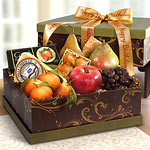 Sonoma Happy Birthday Fruit and Cheese Gift Box