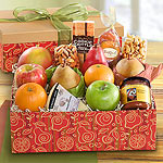 AG2002, California Harvest Deluxe Fruit and Gourmet Gift Box