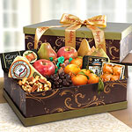 AG3100B, Sonoma Happy Birthday Ultimate Fruit and Cheese Gift Box