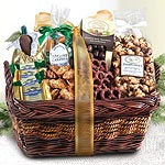 AP0003, Extravagance Caramel and Chocolate Gift Basket