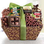 AP0003, Chocolate Galore Gift Basket