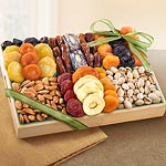Pacific Coast Deluxe Dried Fruit Tray with Nuts Gift