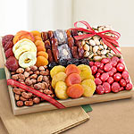 AP8018, Santa Cruz Extravagance Dried Fruits and Nuts Tray