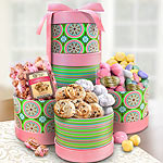 Celebration of Spring Sweets Tower