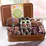 CY2201M, Spring Fling Chocolate Deluxe Collection in Keepsake Tin
