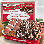 CYT102, Premium Handmade Chocolate Nuts Trio Collection in Gift Tin