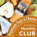 Deluxe Fruit and Cheese Club