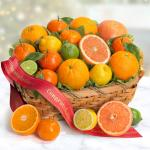 Congratulations Sweet Sunshine Citrus Fruit Gift Basket