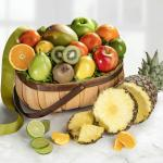 Tropical Favorites Fresh Fruit Gift Basket
