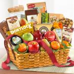 Bountiful Gourmet Artisan Collection Fruit Basket