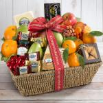 Congratulations California Farmstead Fruit Gift Basket
