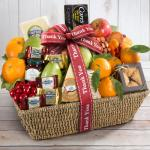 Thank You California Farmstead Fruit Gift Basket
