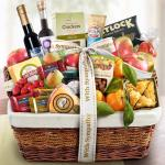 With Sympathy Generous Gourmet Market Favorites Fruit Basket