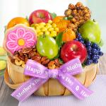 Mother's Day Fruit and Treats Basket