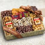Happy Father's Day Chocolate Caramel and Crunch Grand Gift Basket