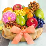 Summer Fruit and Treats Basket