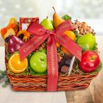 Congratulations Orchard Delight Fruit and Gourmet Basket
