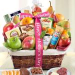 Happy Mothers Day Abundance Classic Fruit Basket